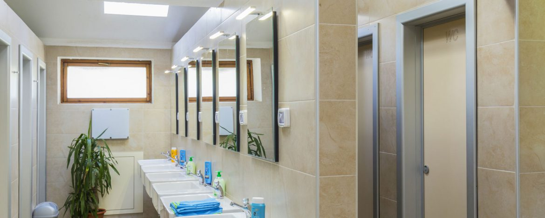 Nieuwe sanitaire voorzieningen